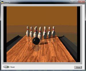 Calmlink biofeedback bowling Game