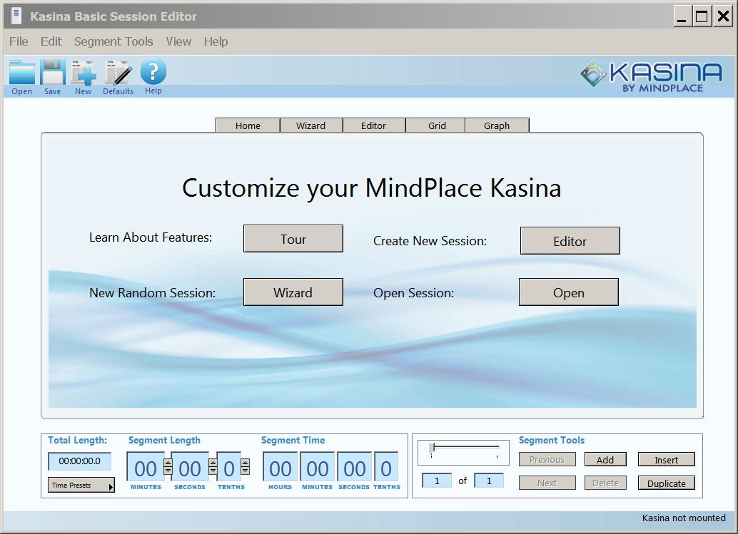 kasina meditation machine